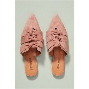 Jeffrey Campbell | Charly Suede Bow Slides